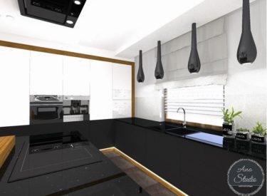 Kuchnia wizualizacje + realizacja